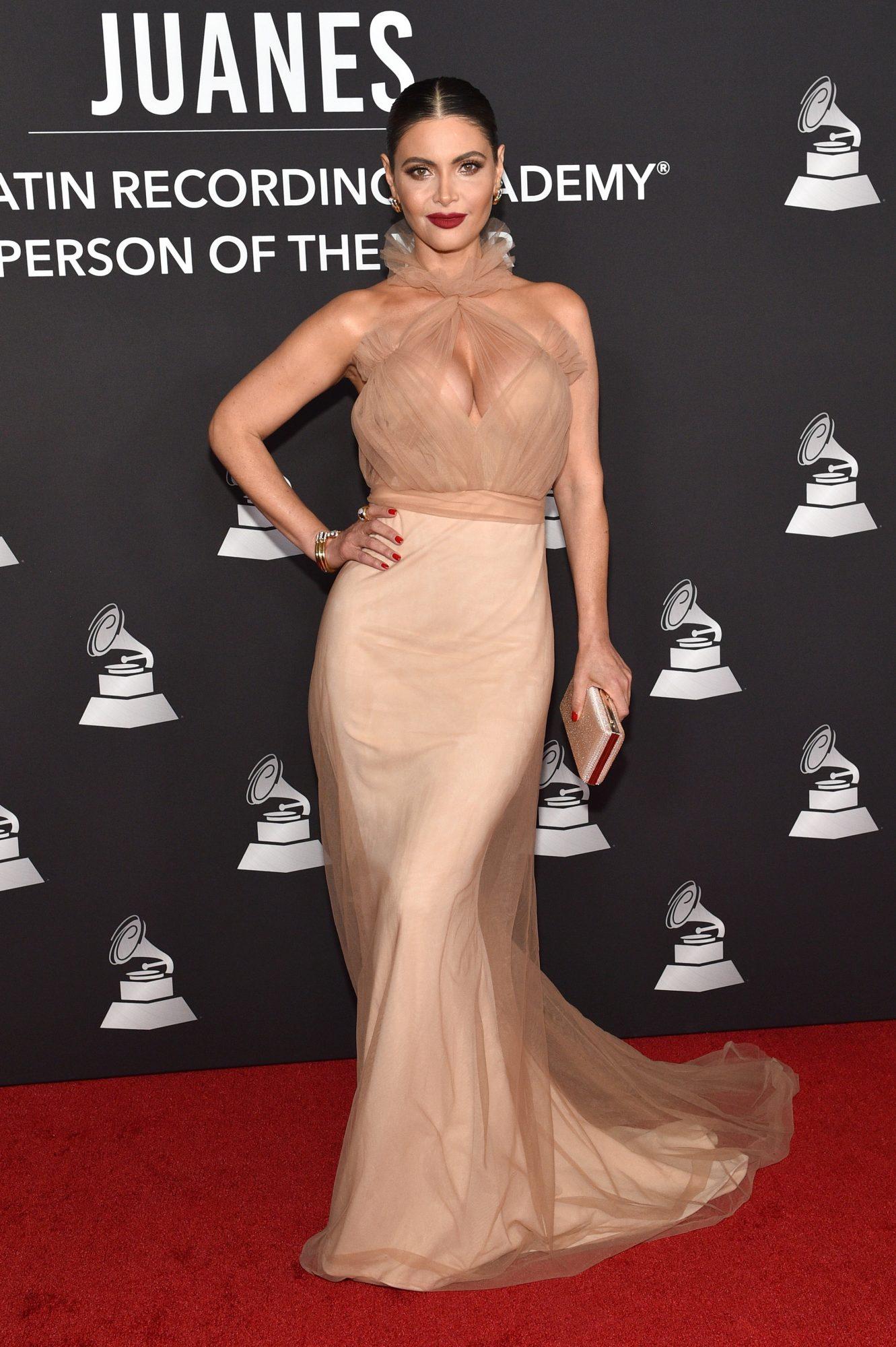 Chiquinquira Delgado, look, persona del ano, Latin Grammy, Las vegas