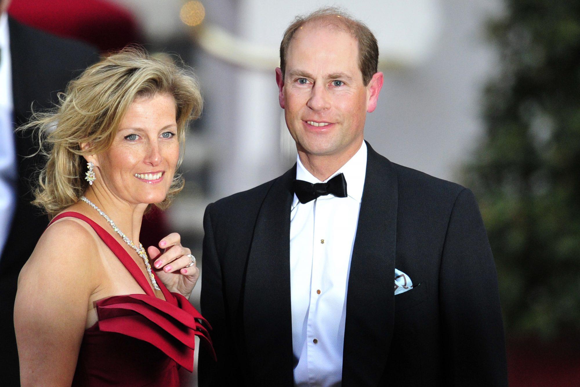 Sofía y Eduardo Condes de Wessex