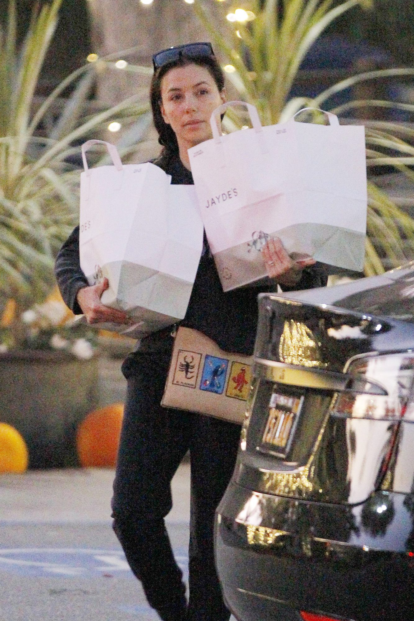 Eva Longoria shopping