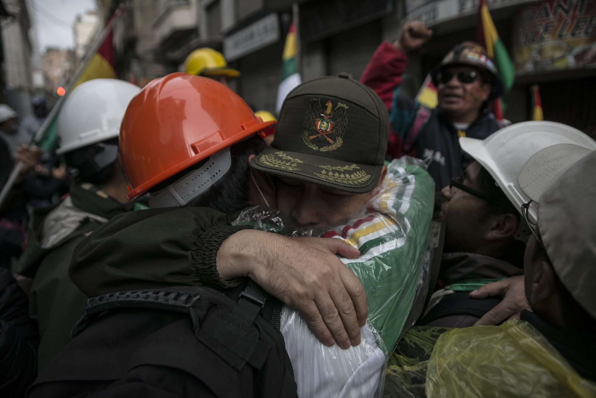 Bolivia's president resigns after army's suggestion
