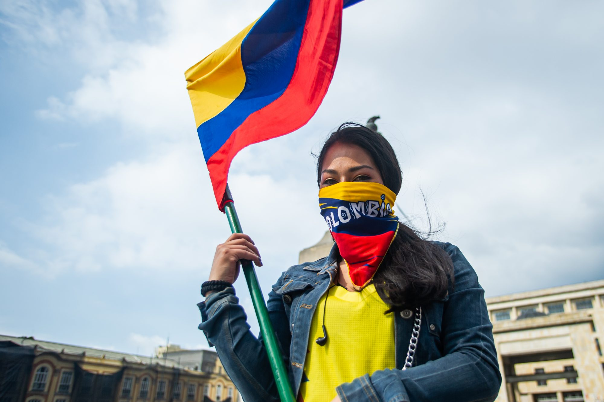 Colombian Protests Roll On For The Third Day