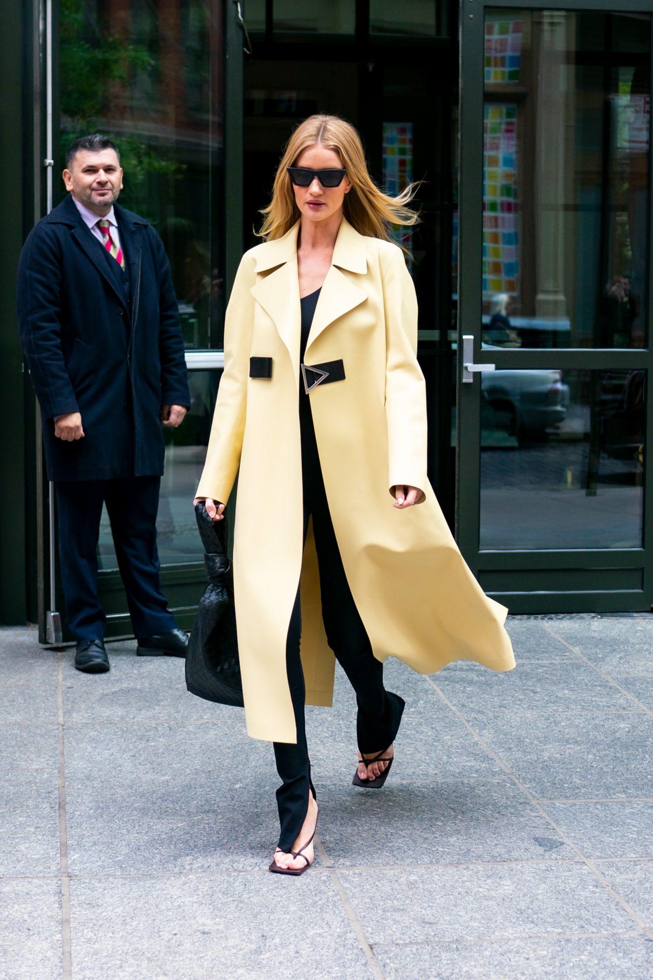 Rosie Huntington-Whiteley, looks, new york