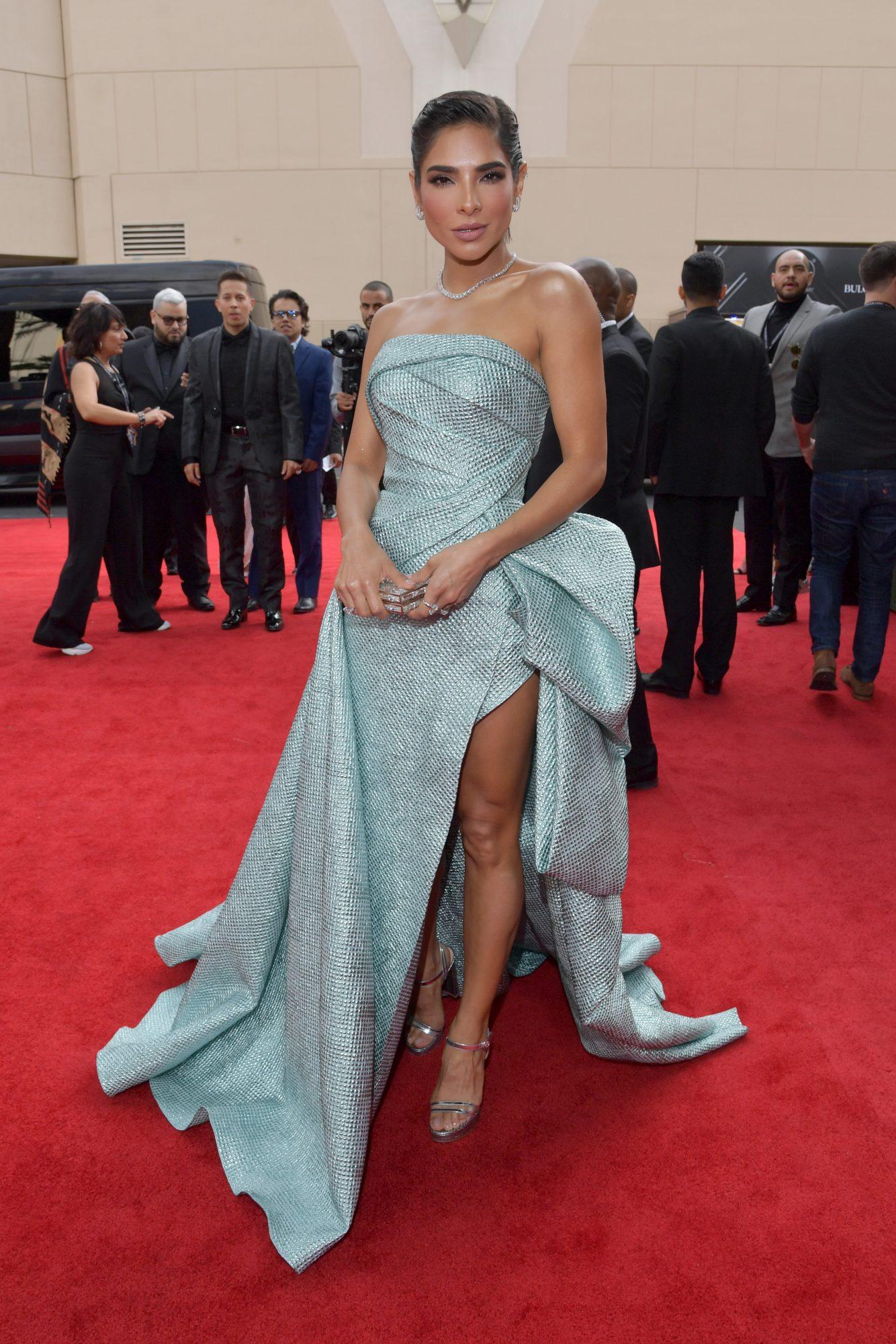alfombra roja, Latin Grammy, famosas, vestido