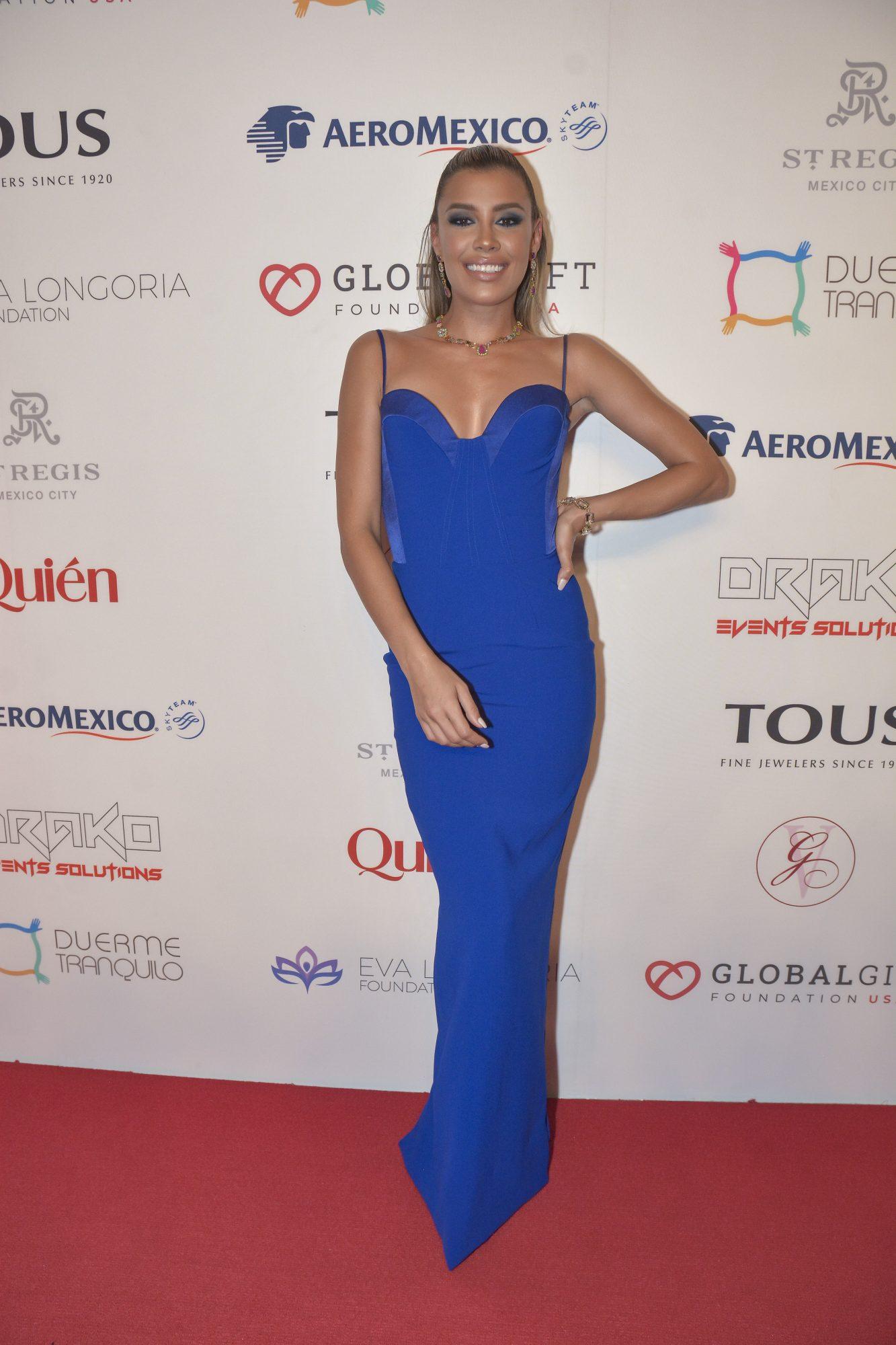Michelle Salas, look, global gift gala
