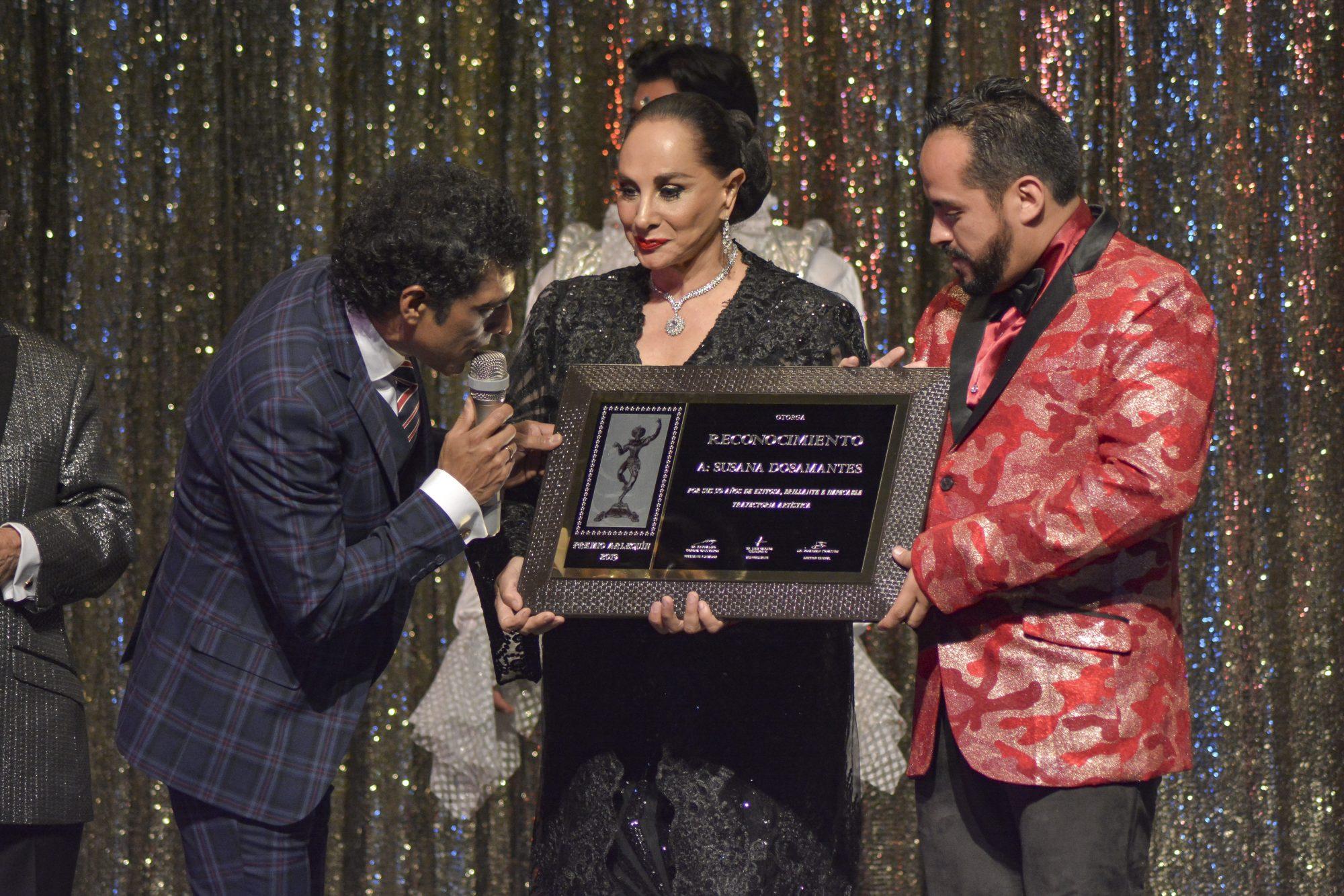 Susana Dosamantes, Premios Arlequín