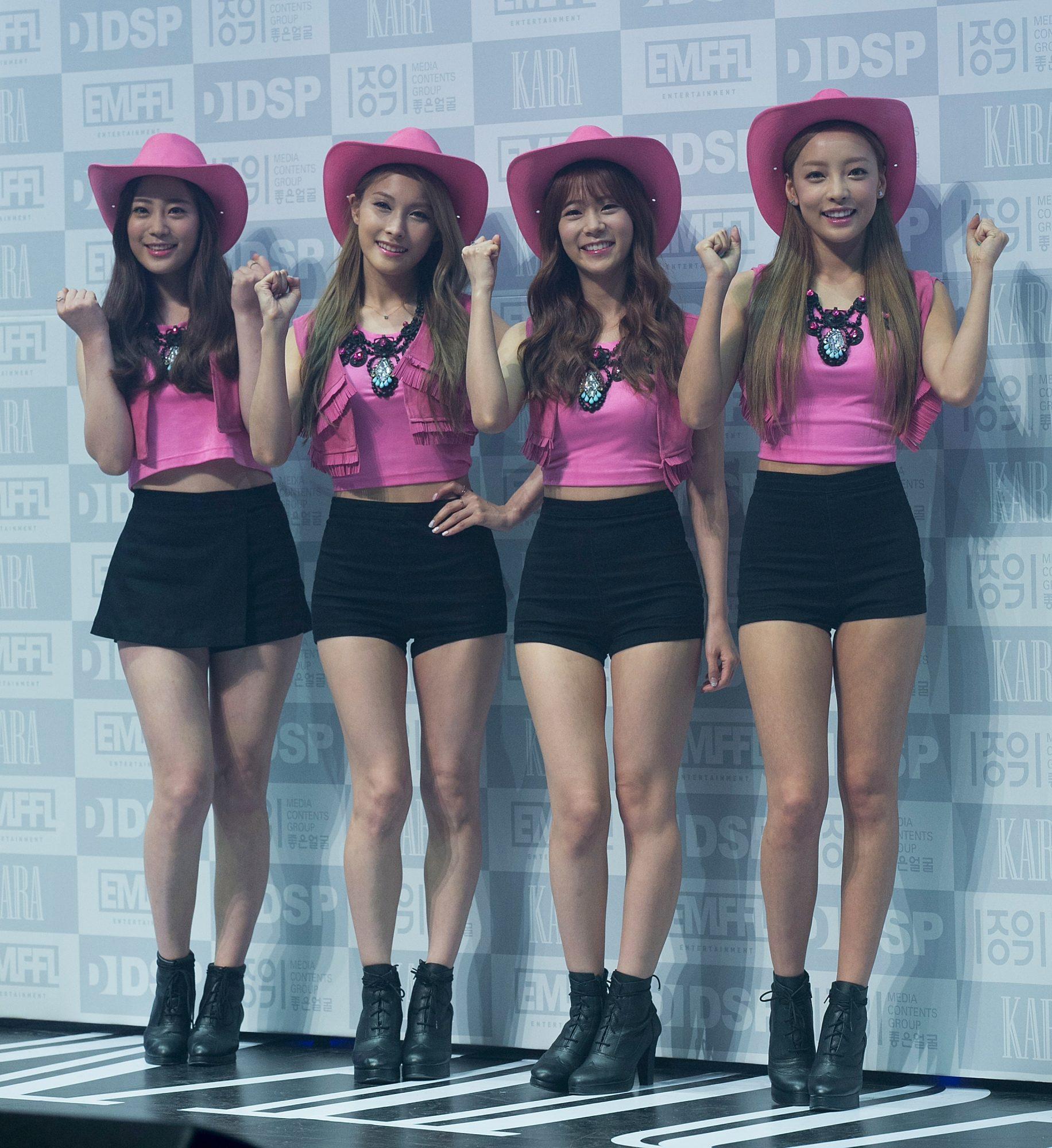 """KARA 7th Mini Album """"In Love"""" Showcase In Seoul"""