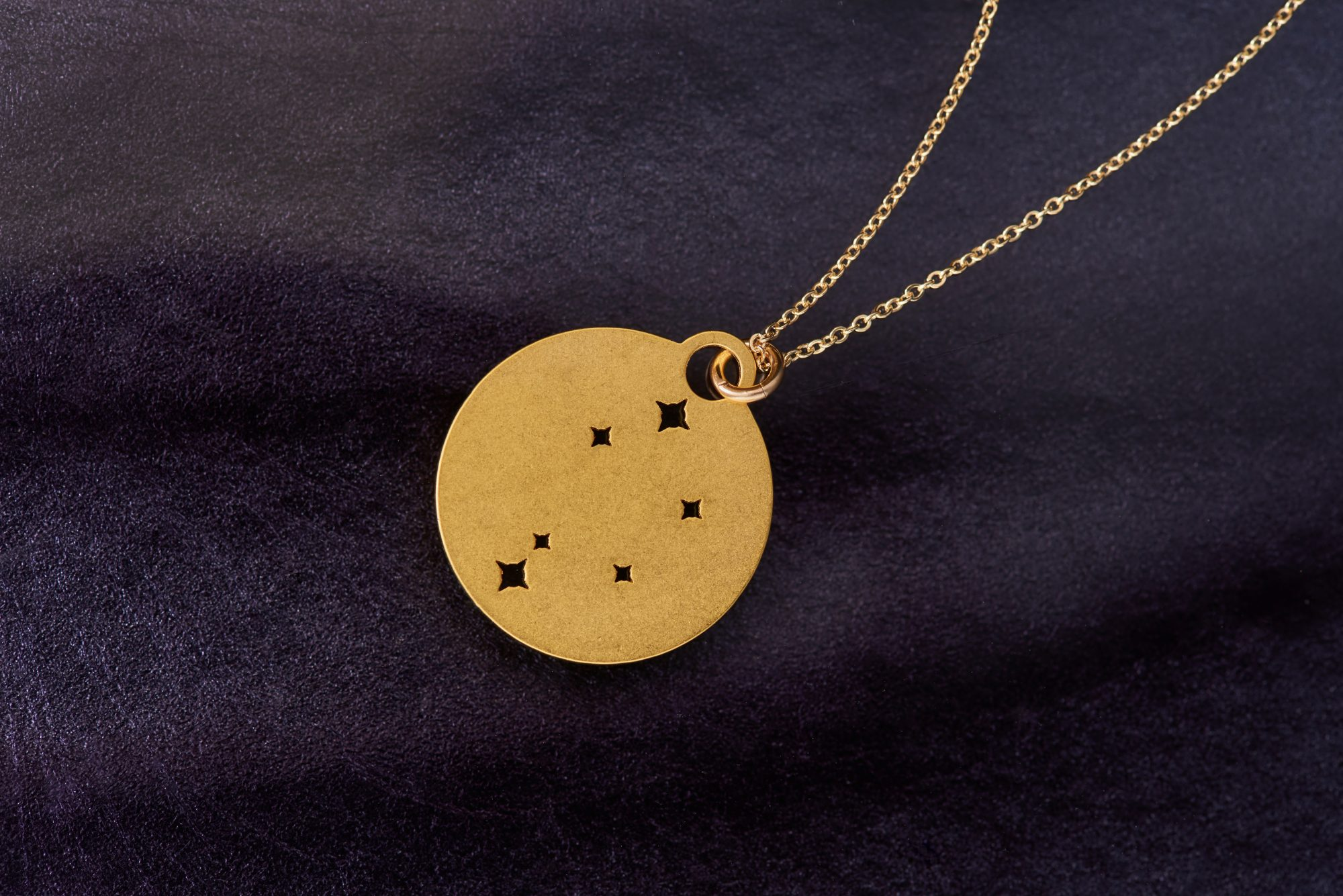 Constellation necklace, Metwalworks