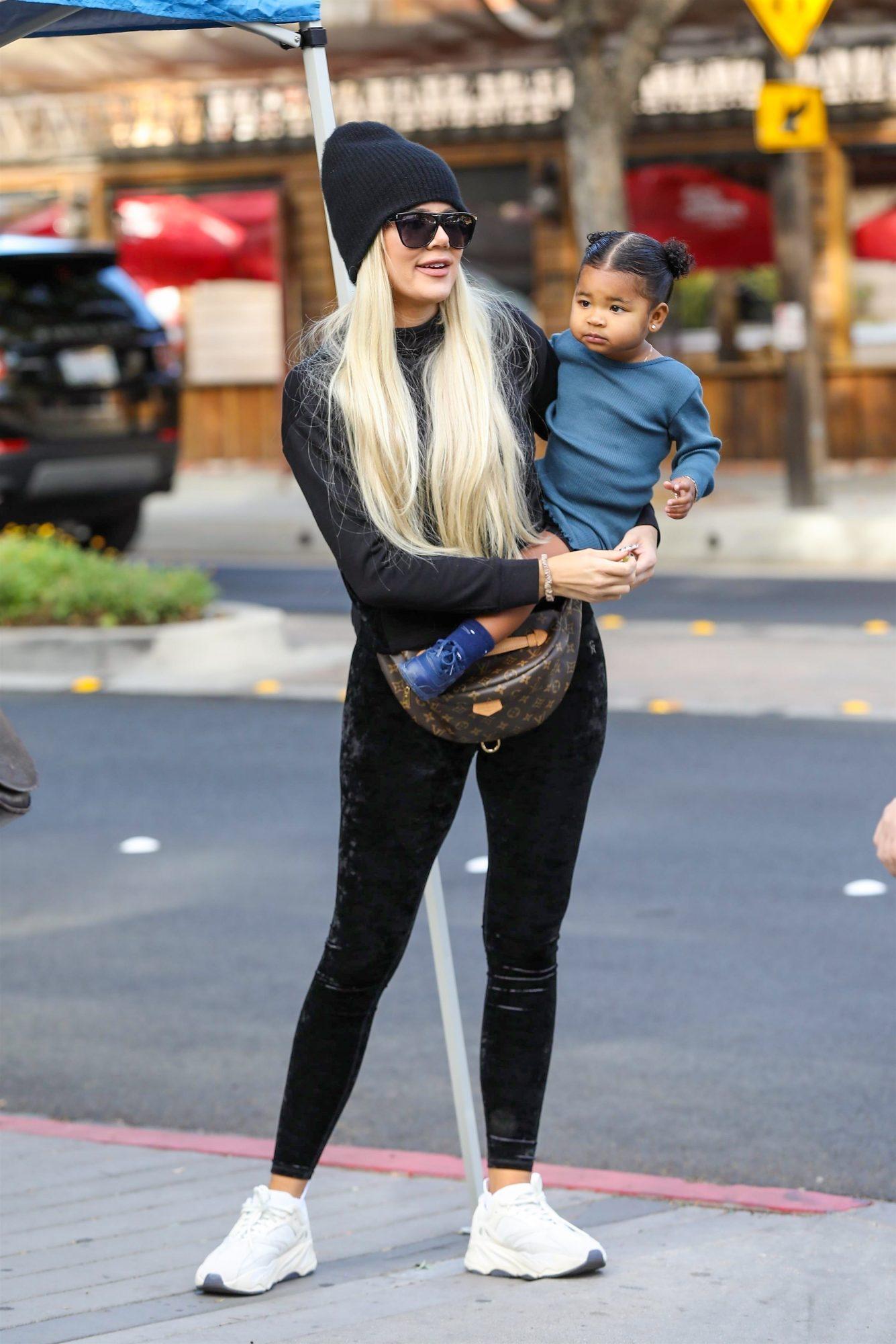 Khloe Kardashian y True Thompson