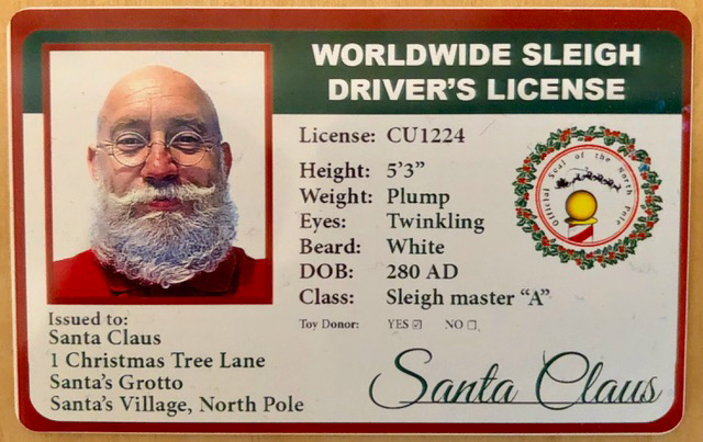 Professional Santa Claus Makes Good Money