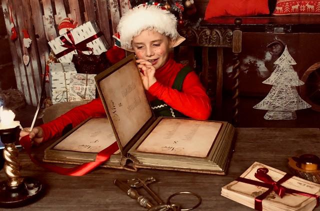 Professional Santa Claus Makes Good Money