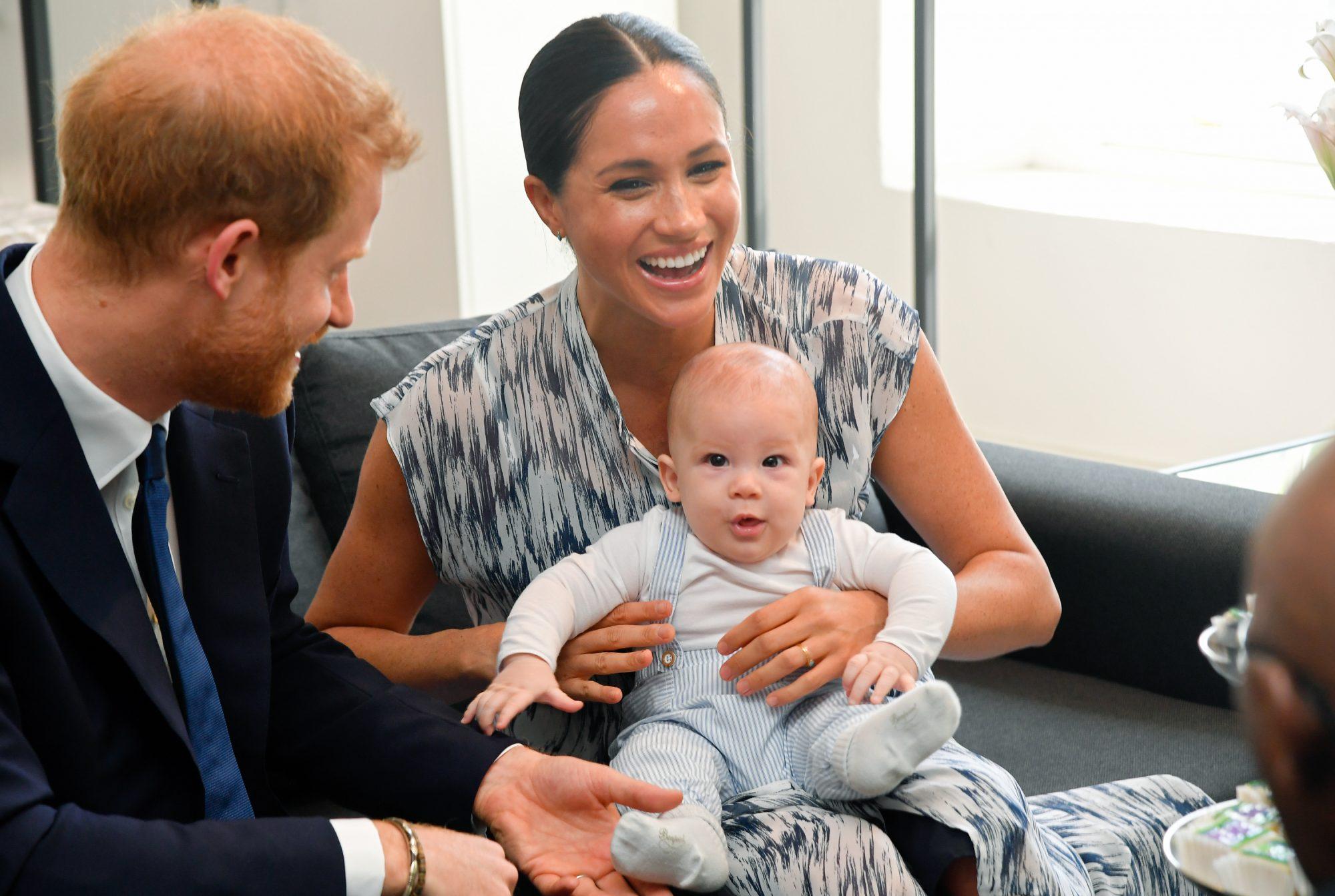 Príncipe Harry, Meghan Markle, Archie