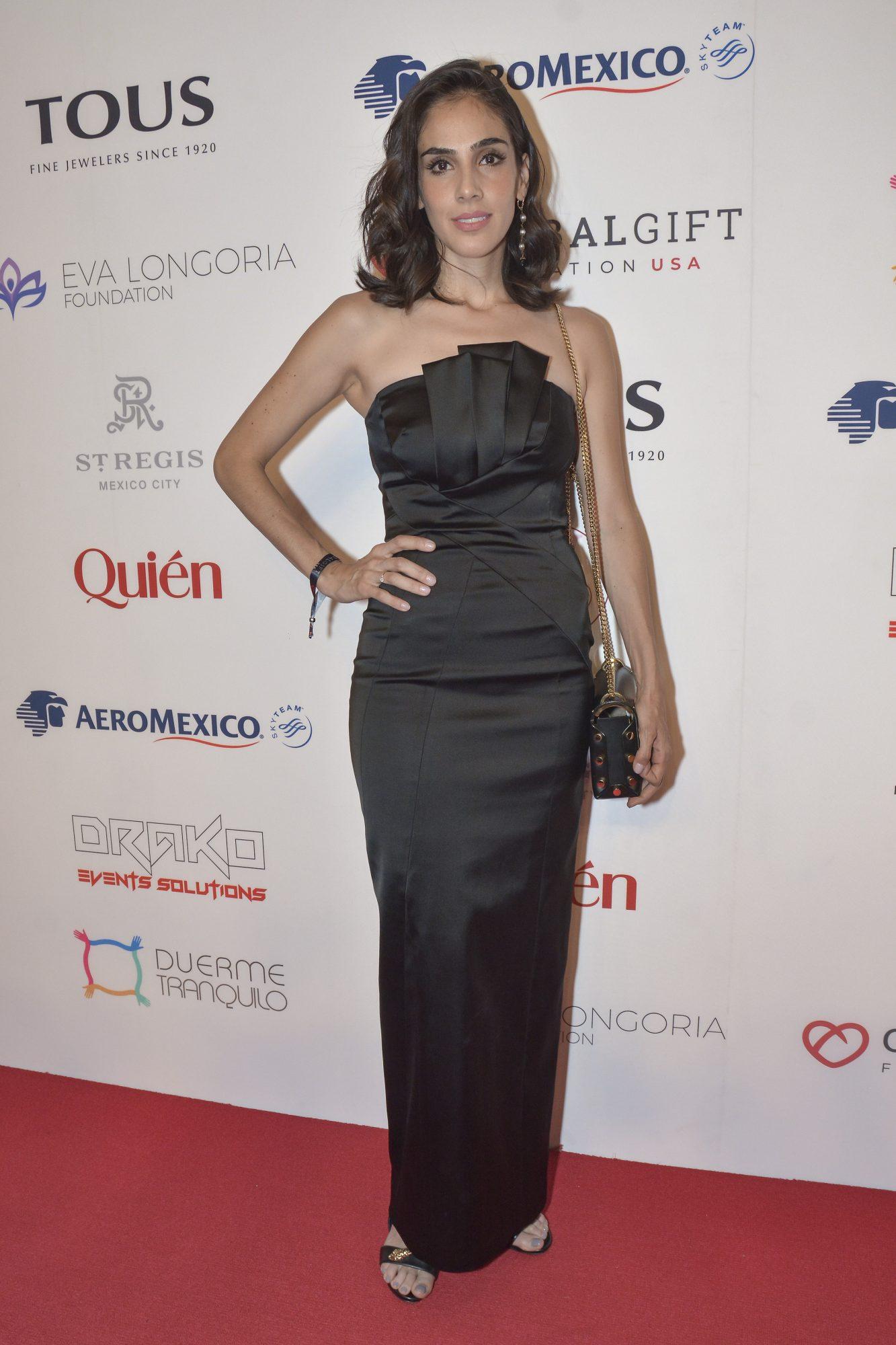 Sandra Echeverria, global gift gala, look