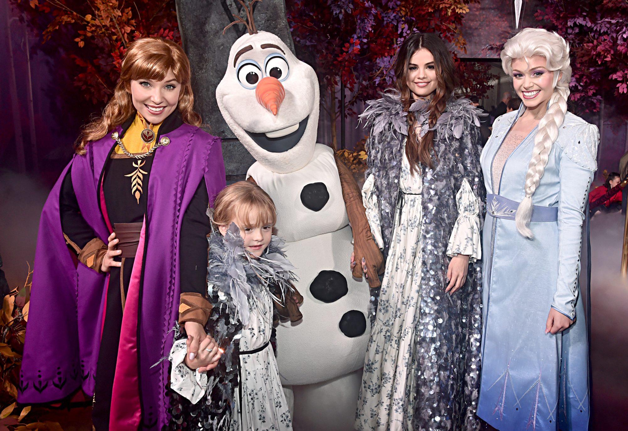 Frozen II, Gracie Teefey, Selena Gómez