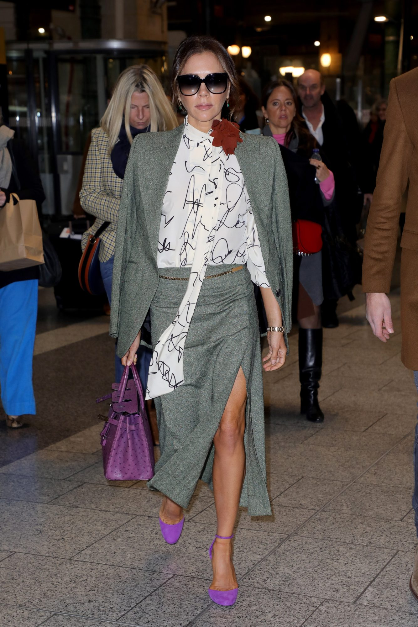Victoria Beckham, looks, Paris
