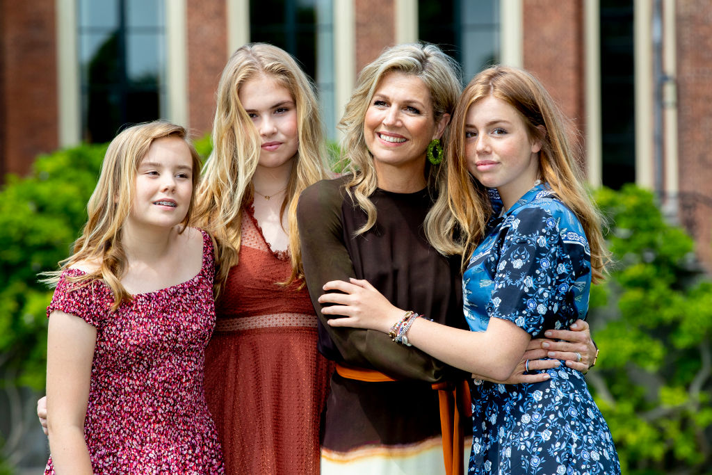 Dutch Royal Family Summer Photo Call In The Hague