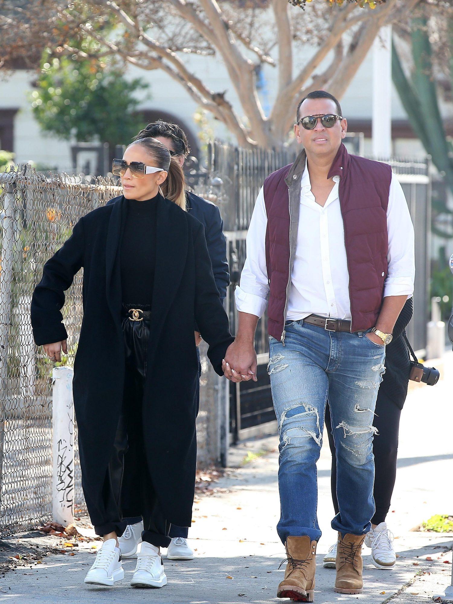 EXC Jennifer Lopez, Alex Rodriguez