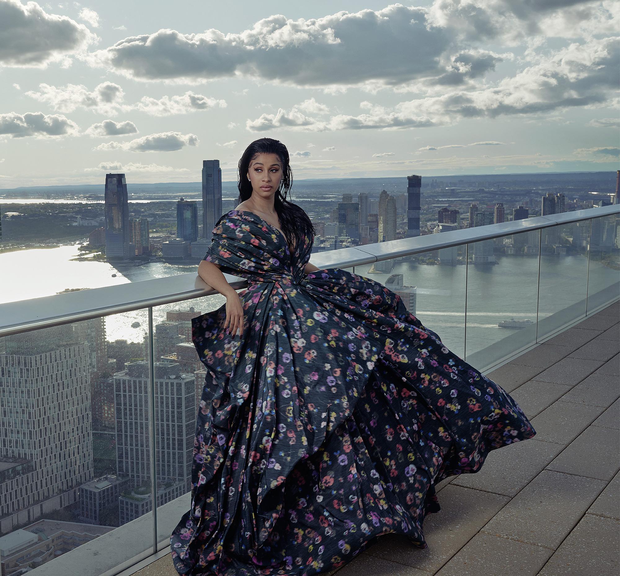 Cardi B in Vogue