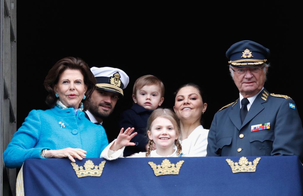Rey Carlos Gustavo de Suecia Princesa Victoria familia