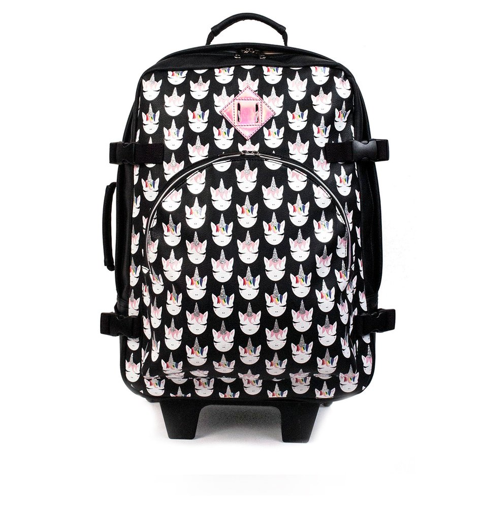 Viajes regalos maleta carry on unicornio