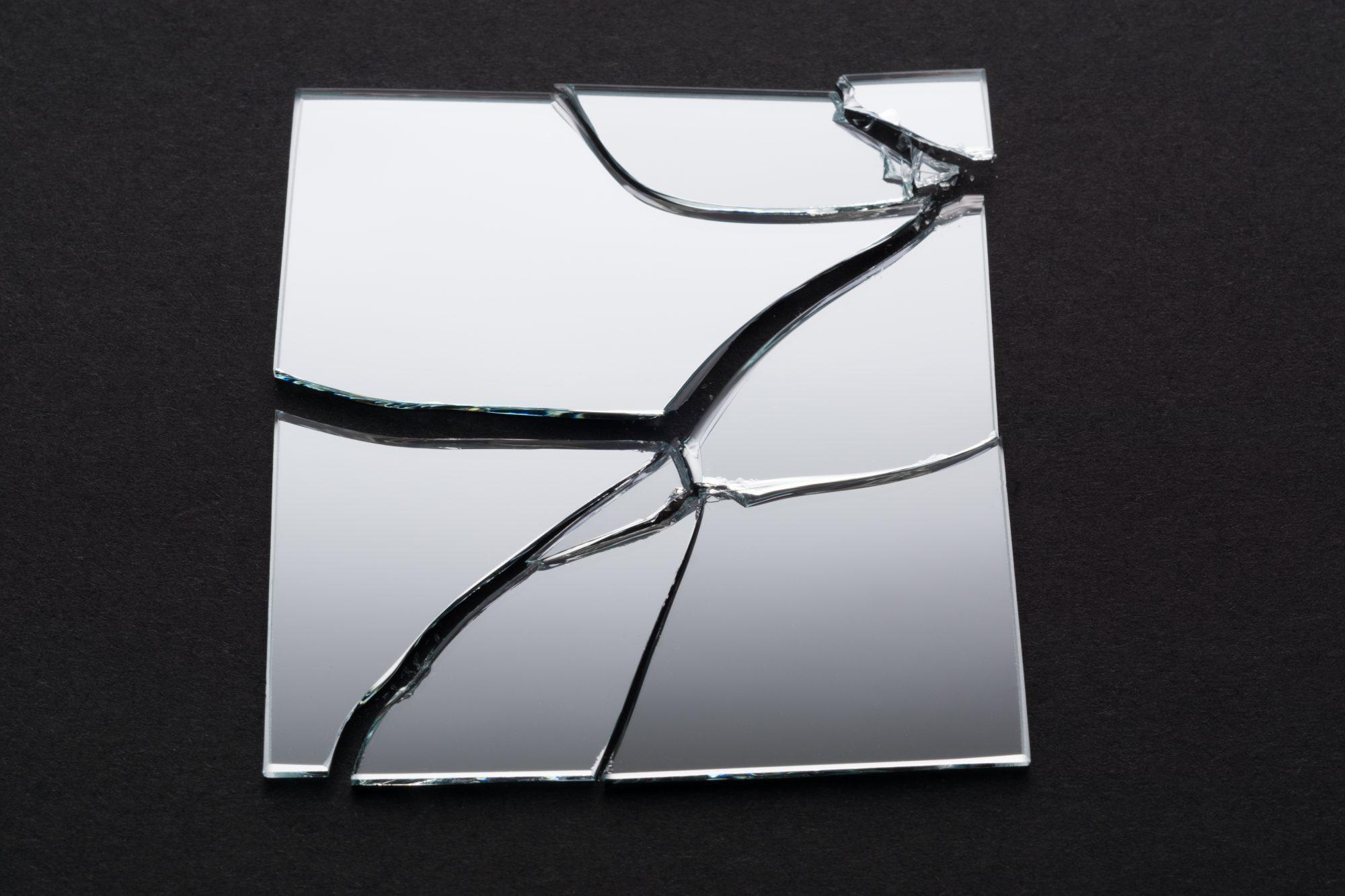 Broken Square Mirror