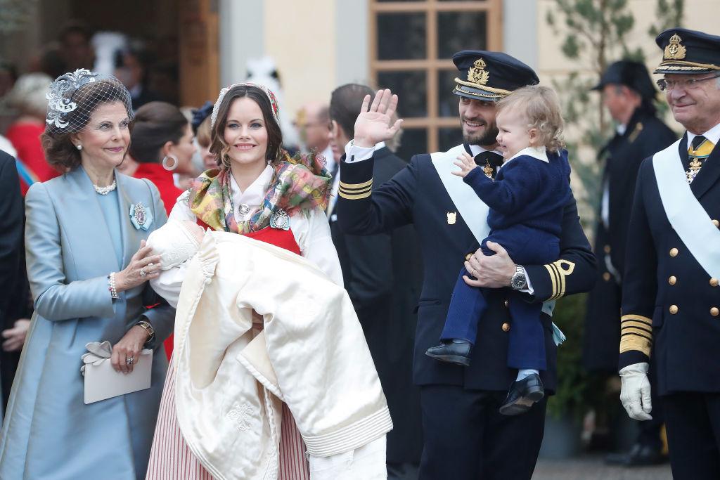 Rey Carlos Gustavo de Suecia Príncipe Carlos Felipe