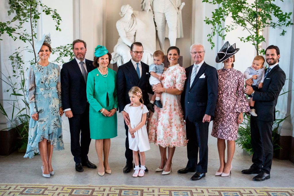 Rey Carlos Gustavo de Suecia Príncipe Carlos Felipe de Suecia familia Princesa Victoria Princesa Magdalena familia