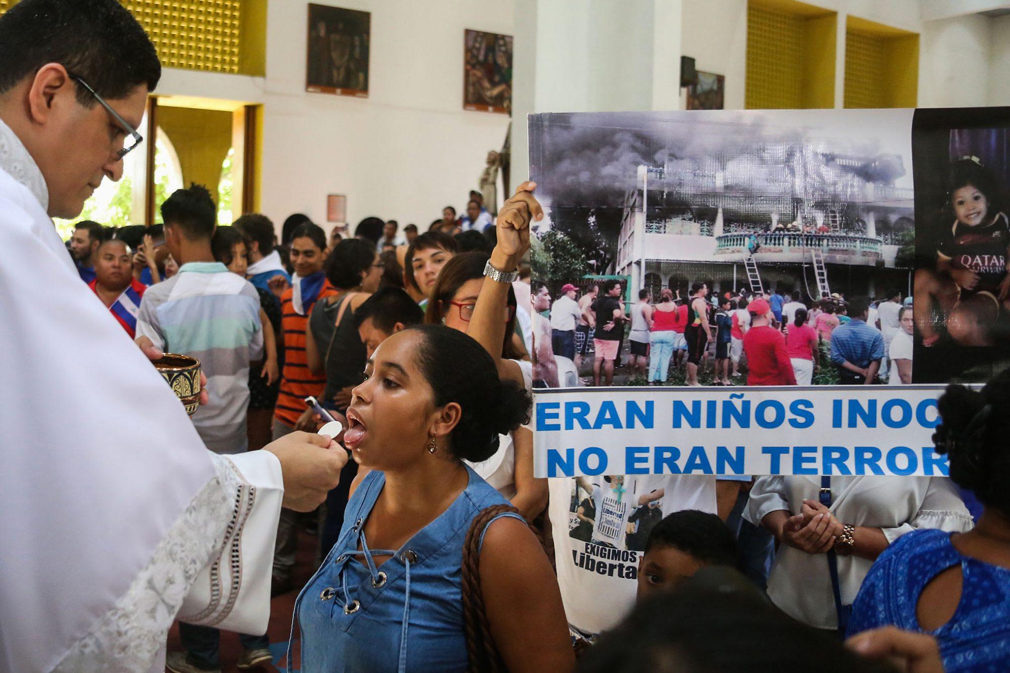 NICARAGUA-CRISIS-PRISONER-RELEASE