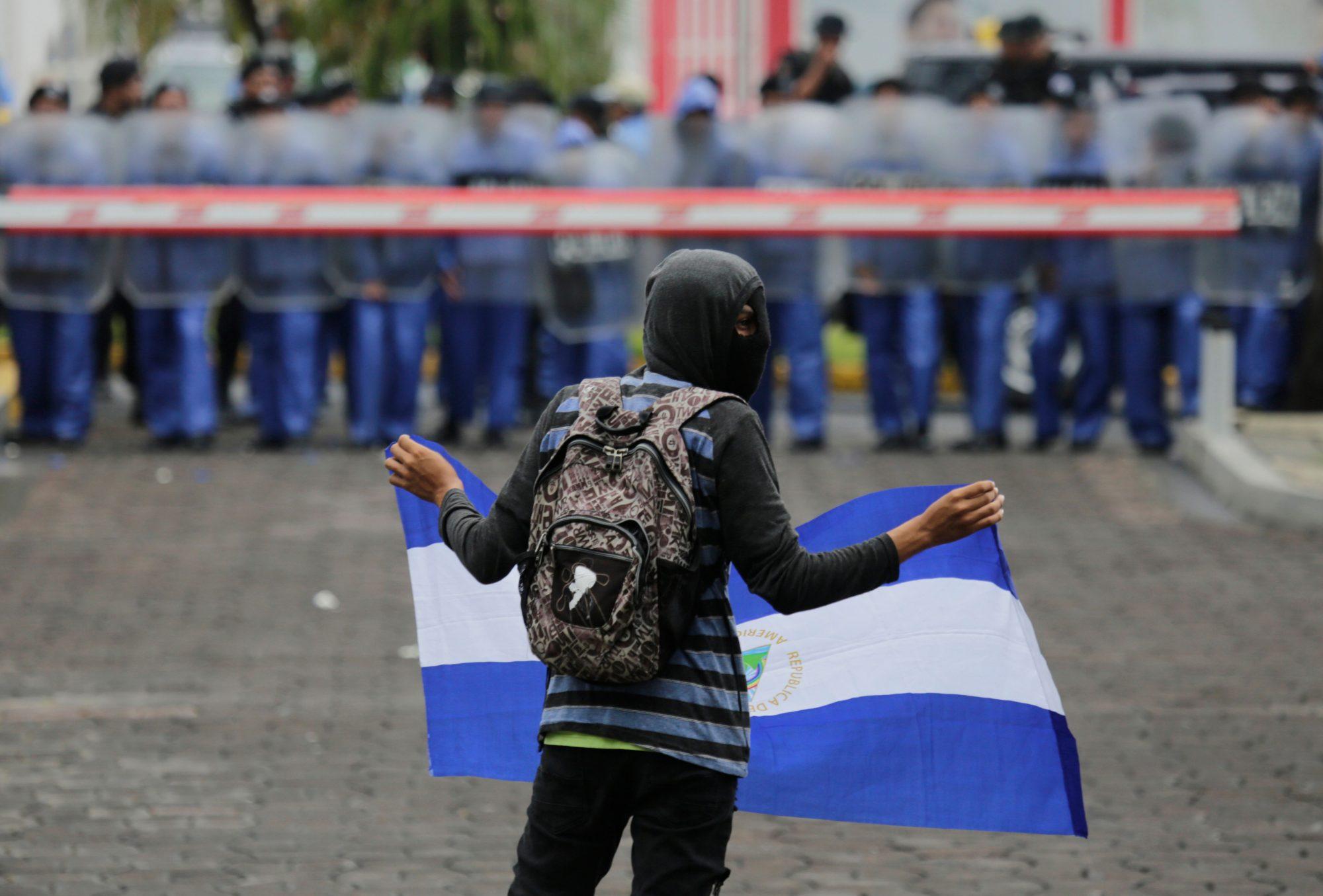 NICARAGUA-UNREST-PROTEST