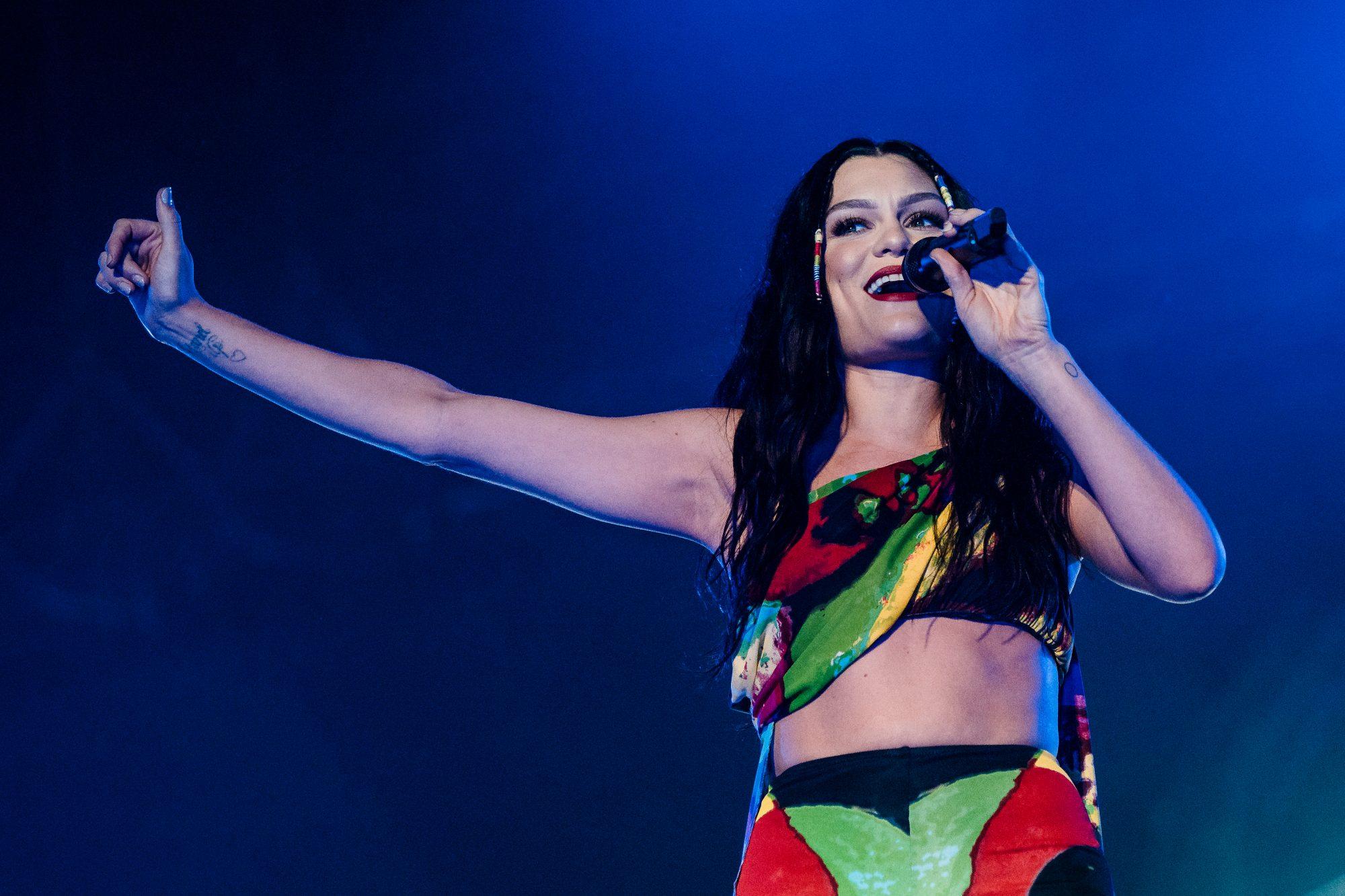 Jessie J en concierto en Rio de Janeiro