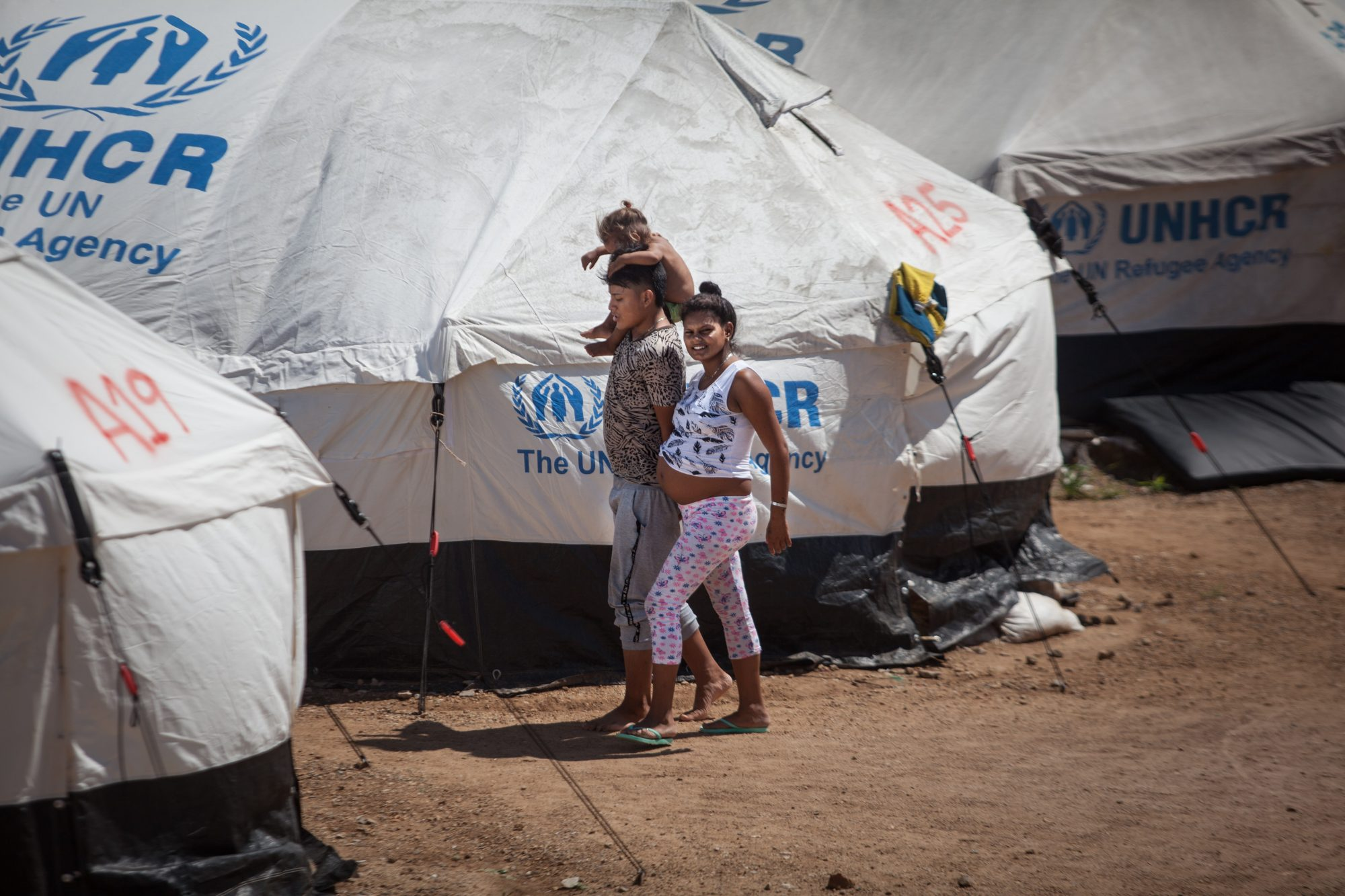 UNHCR camp in Maicao
