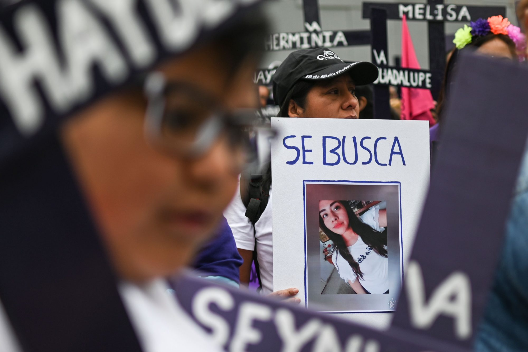MEXICO-CRIME-VIOLENCE-WOMEN-FEMICIDES-PROTEST