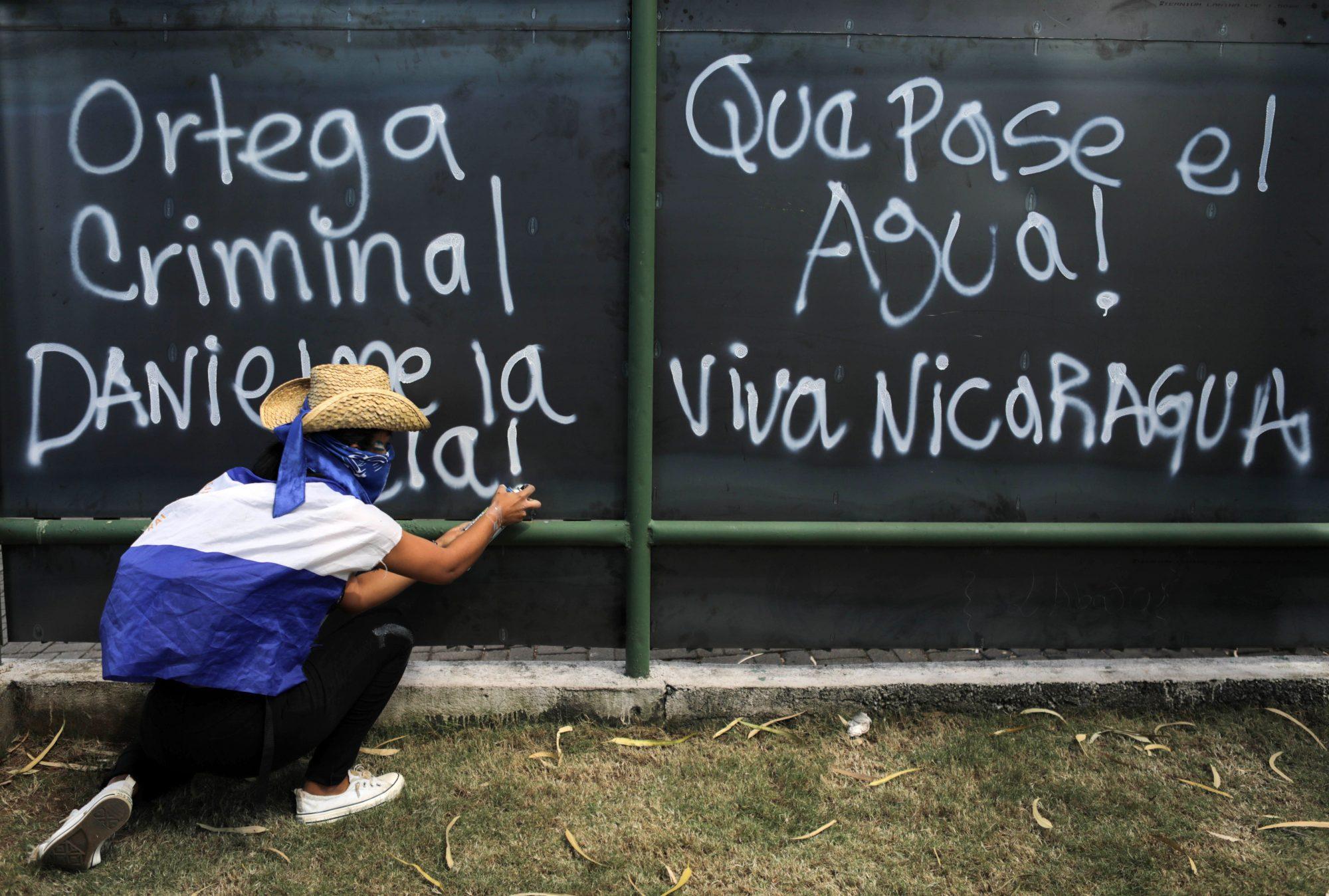 NICARAGUA-CRISIS-PRISONERS-DEMO