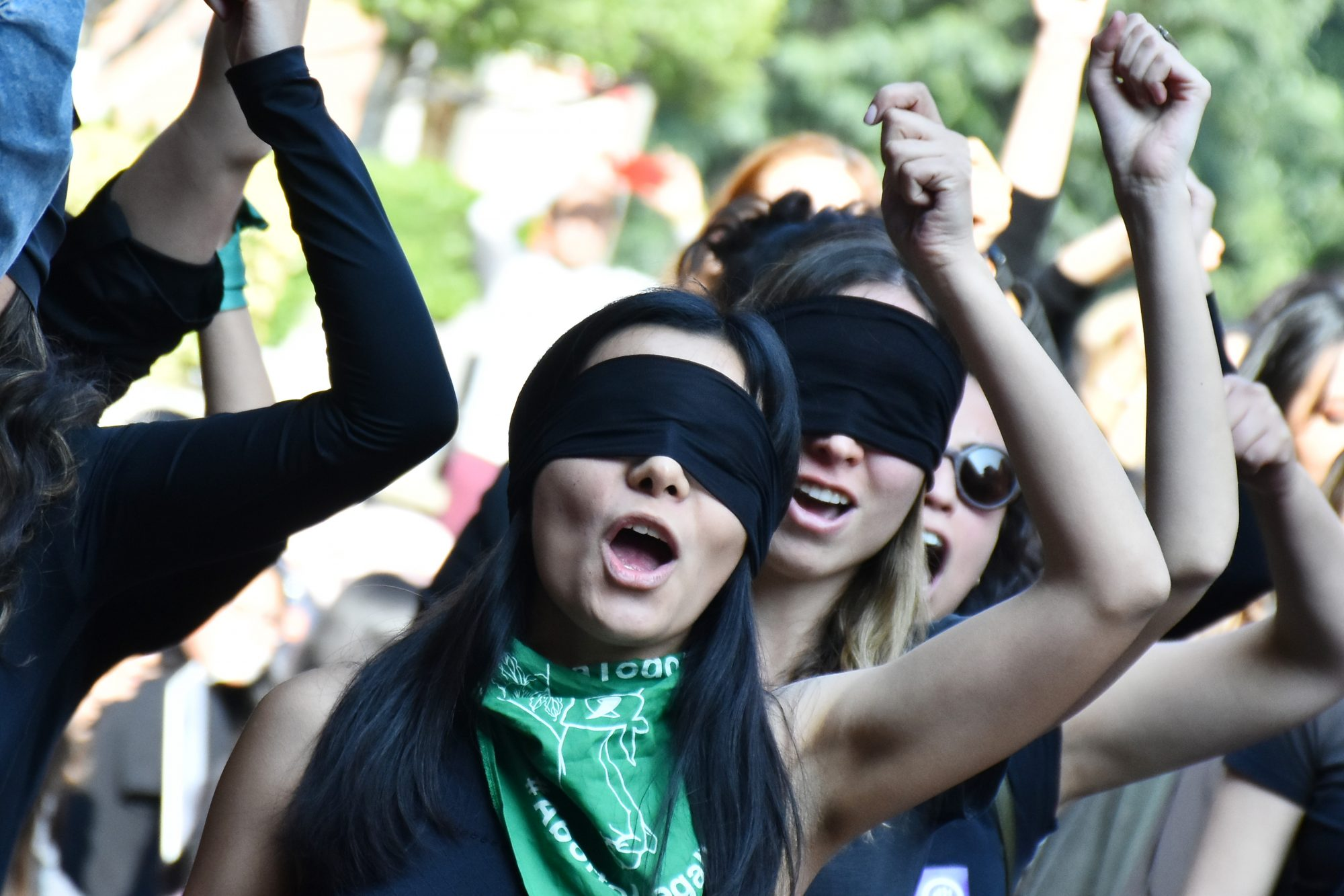 Feminists Protest Against Violence Women In Mexico