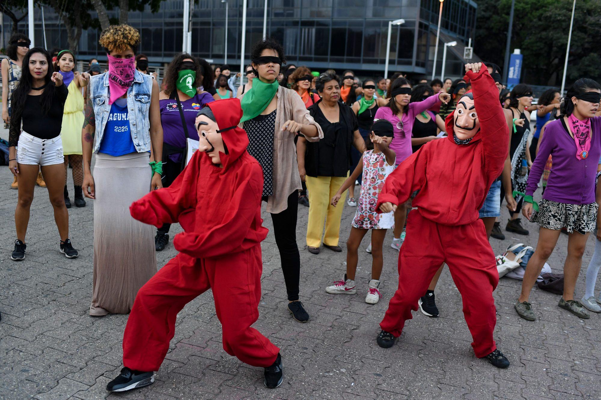 VENEZUELA-CRISIS-WOMEN-PROTEST