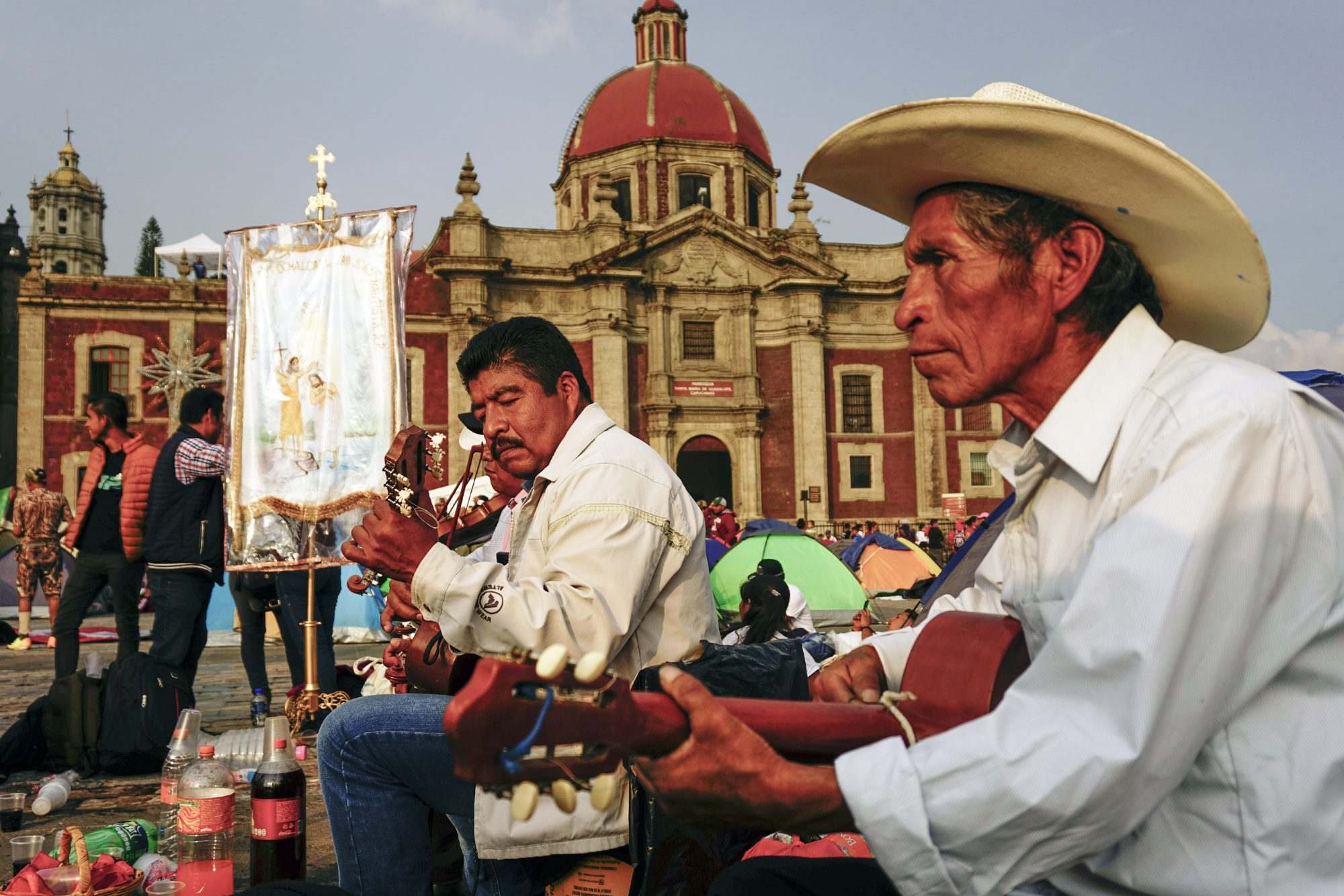 Day Of Our Lady Of Guadalupe Celebrations In Mexico
