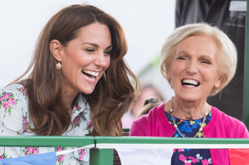 Kate Middleton Mary Berry