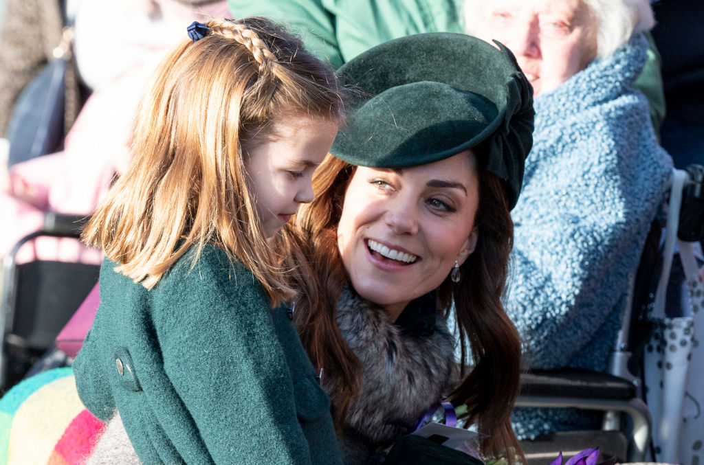 kate Middleton princesa Charlotte