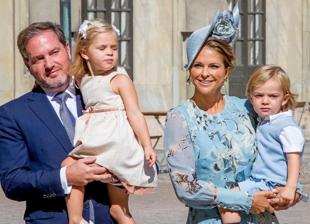Princesa Magdalena de Suecia Familia