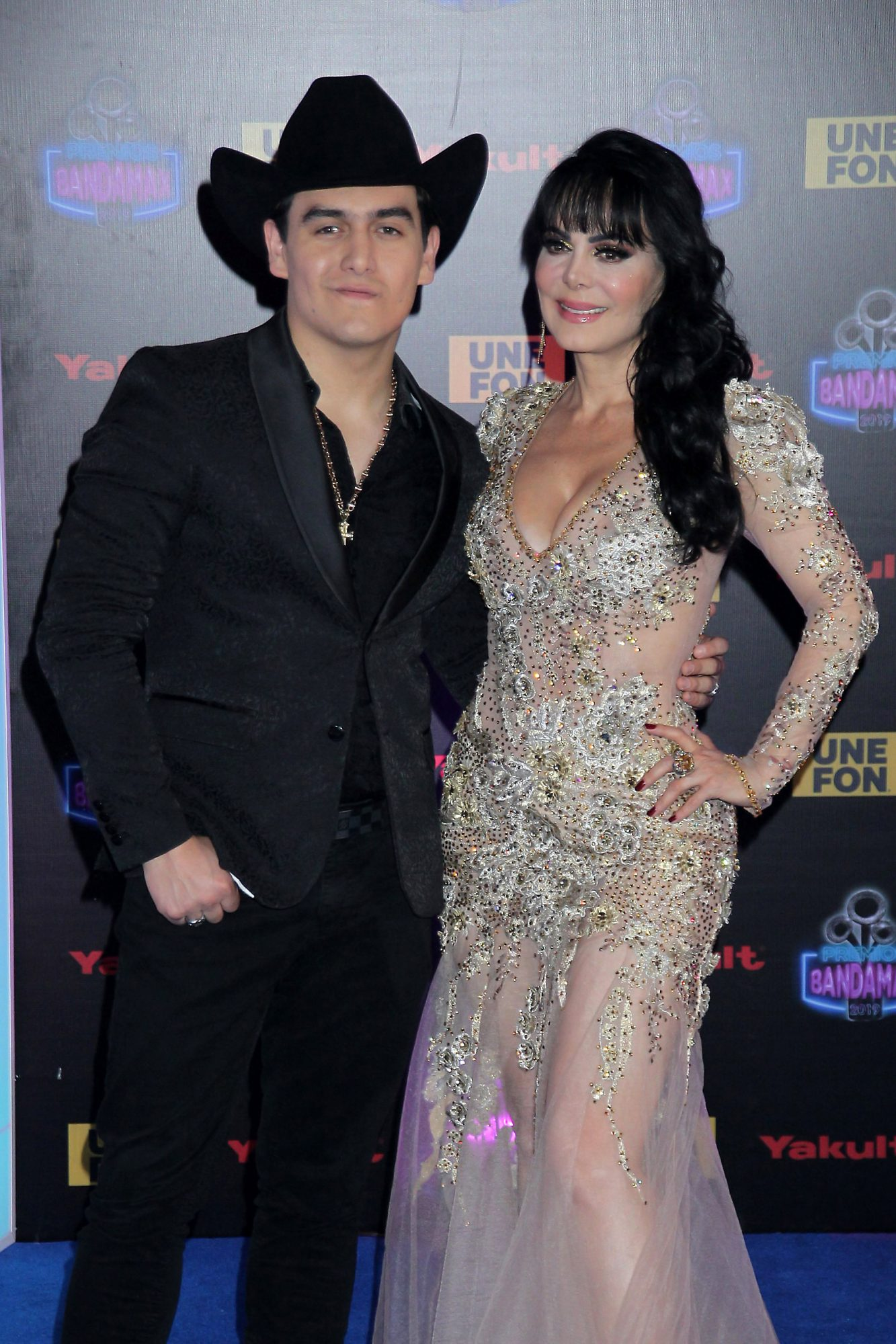 Maribel Guardia y Julián Figueroa Premios Bandamax 2019