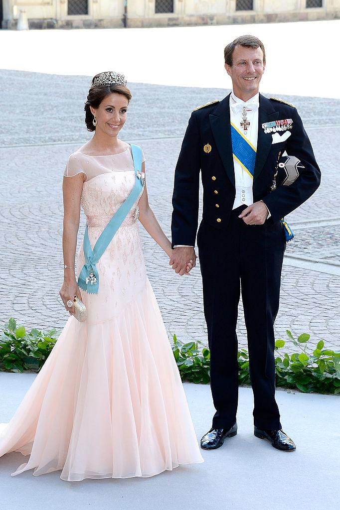 princesa Marie de Dinamarca, príncipe Joaquín de Dinamarca