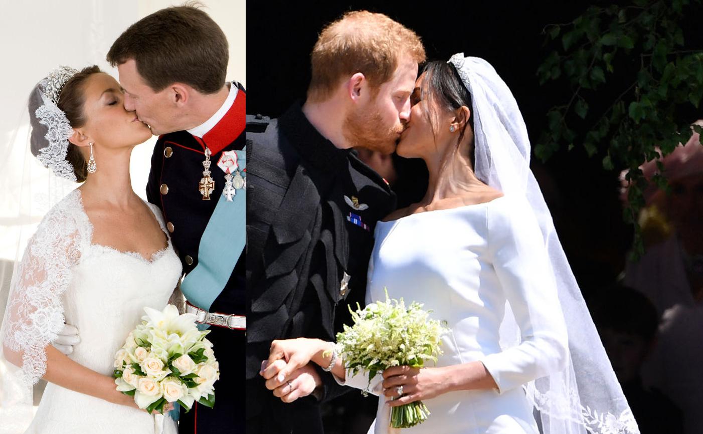princesa Marie de Dinamarca príncipe Joaquín de Dinamarca príncipe Harry Meghan Markle wedding compose