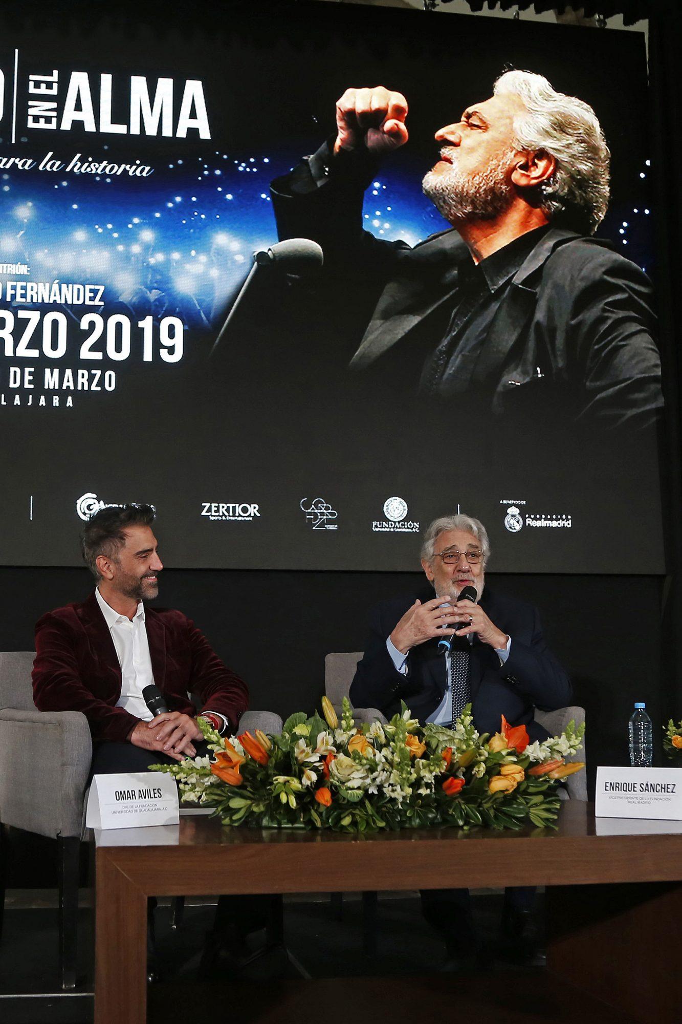 Alejandro Fernández y Plácido Domingo