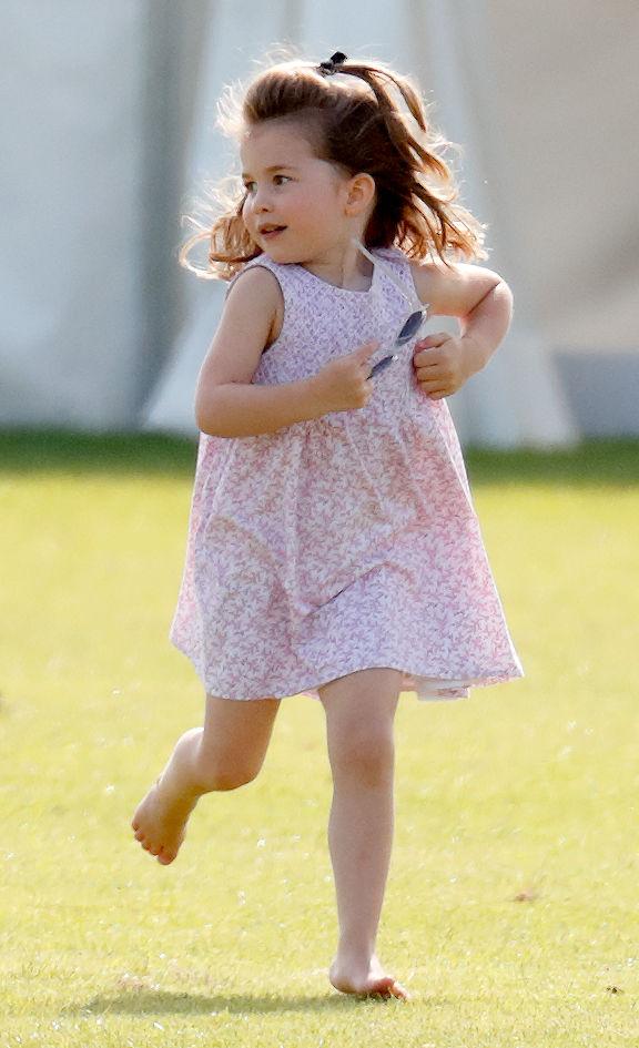Charlotte corriendo