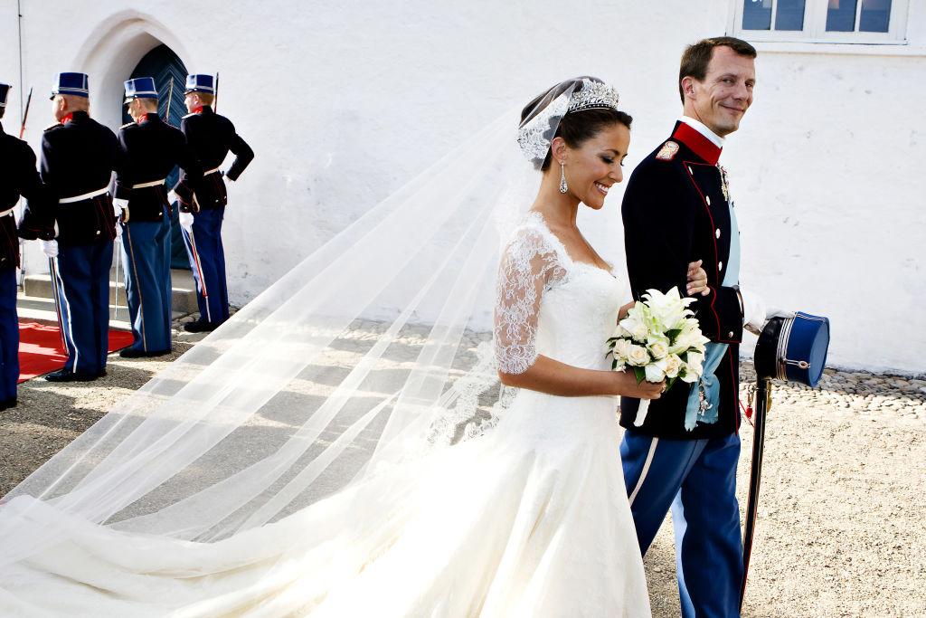 princesa Marie de Dinamarca príncipe Joaquín de Dinamarca boda