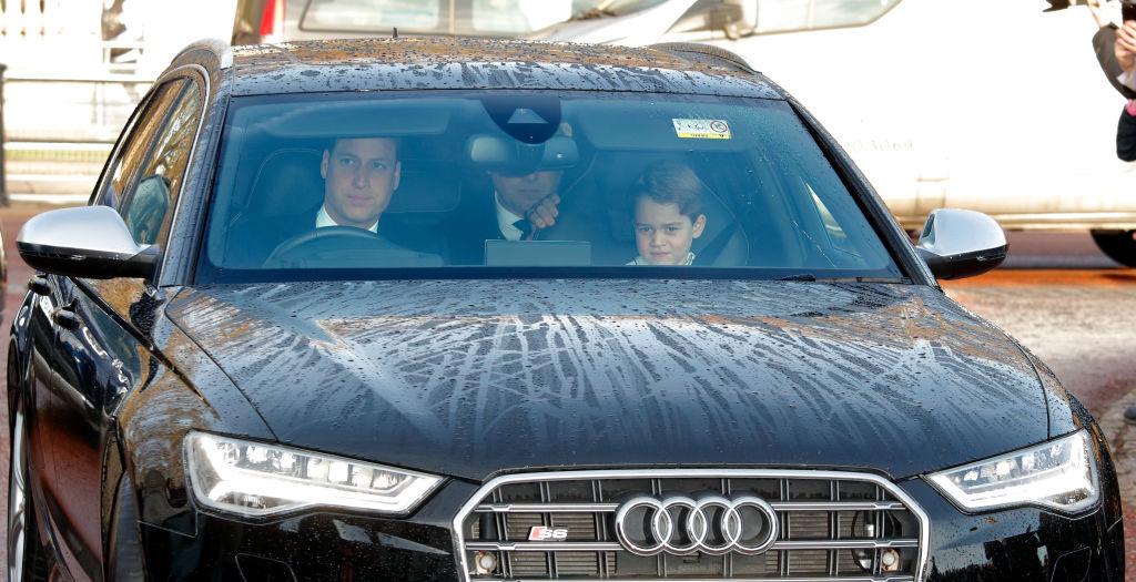 Príncipe William y príncipe George