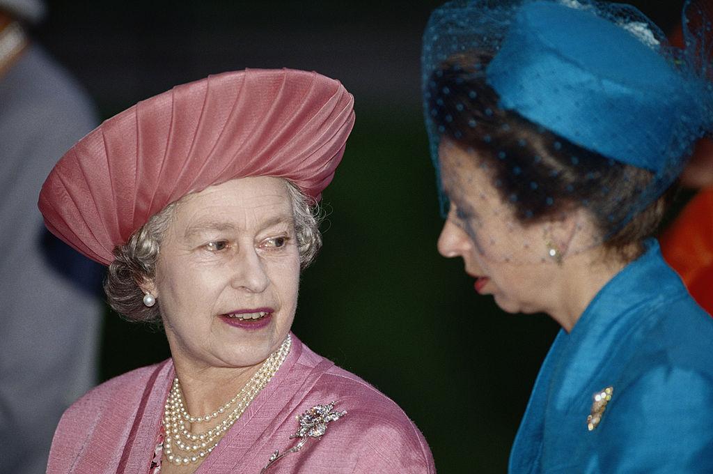 Reina Isabel princesa Ana