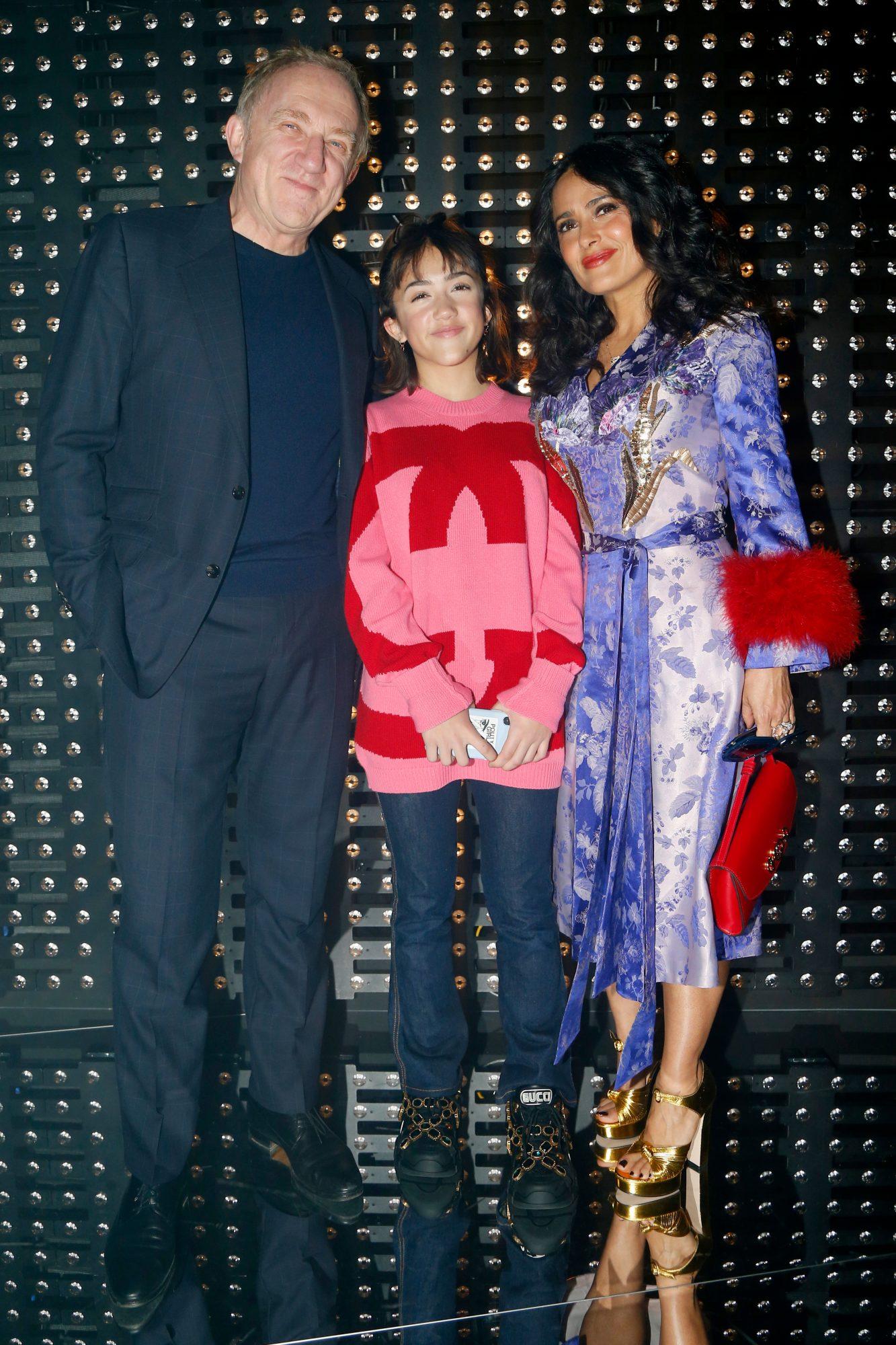 Francois-Henri Pinault, Valentina Paloma Pinault, Salma Hayek