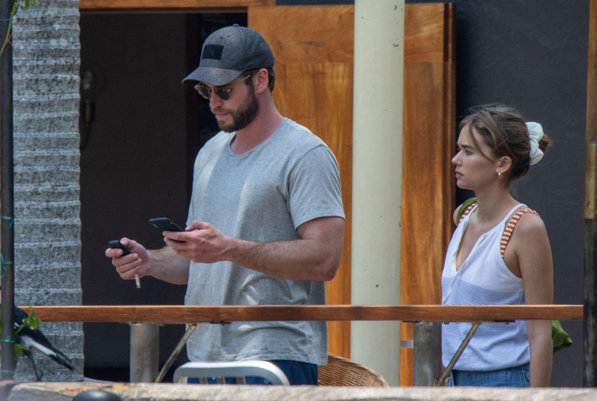 EXC Liam Hemsworth, Gabriella Brooks