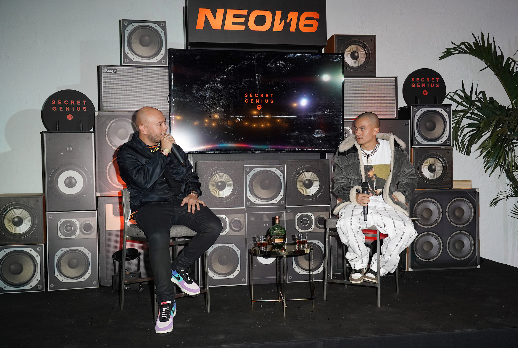 tainy-and-lex-borrero-secret-genius-panel-at-the-kids-that-grew-up-on-reggaeton-presented-by-neon16-buchanans-whisky-and-spotify-genius_12.4.19_photo-credit-getty-images.jpg