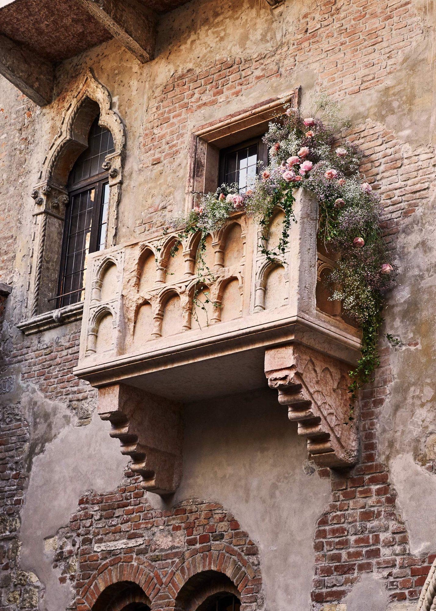 casa de romeo y julieta en verona italia